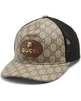 Logo-print Gg Supreme Cap