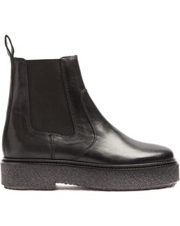 Celton Leather Ankle Boots