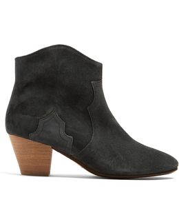 Étoile Dicker 55mm Suede Ankle Boots
