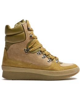 Brendty High-top Wedge Trainers