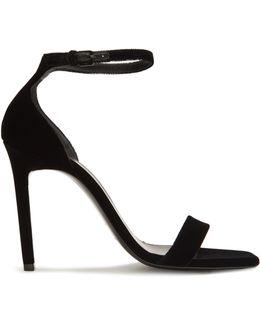 Amber Velvet Sandals