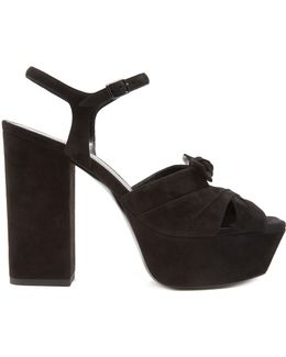 Farrah Suede Platform Sandals