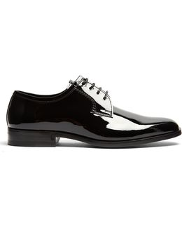 Montaigne Patent-leather Derby Shoes