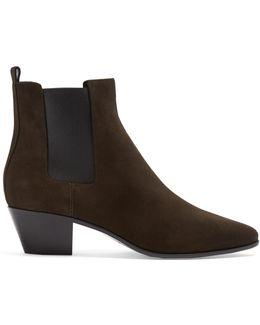 Rock Suede Chelsea Boots