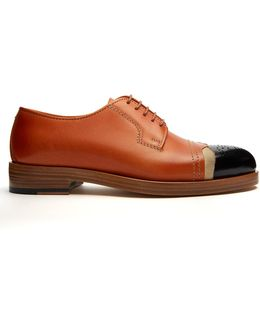 Capped-toe Leather Brogues