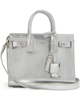 Sac De Jour Baby Grained-leather Tote