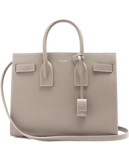 Sac De Jour Small Grained-leather Tote