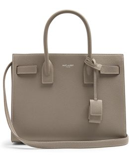 Sac De Jour Baby Grained-leather Tote Bag