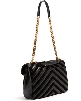 Collège Large Quilted-leather Shoulder Bag