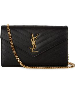 Monogram Quilted-leather Cross-body Bag