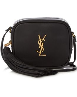 Monogram Blogger Leather Cross-body Bag