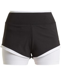 Training Double-layered Performance Shorts