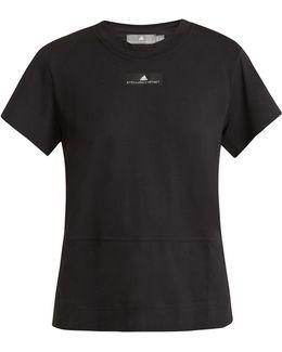 Run Cotton-blend Performance T-shirt