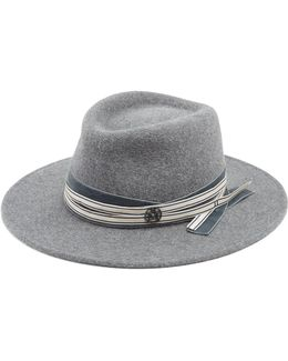 Thadee Rabbit-fut Felt Hat
