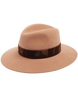 Henrietta Rabbit-fur Felt Hat