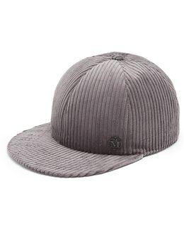 Hailey Cotton-corduroy Cap