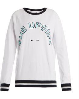 Match Point Sid Cotton-jersey Sweatshirt
