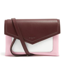 Duetto Leather Cross-body Bag