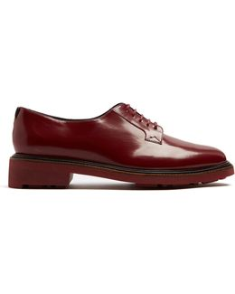 Jonko Lace-up Leather Derby Shoes