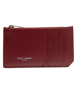 Fragments Leather Cardholder