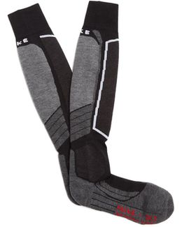 Sk2 Wool-blend Ski Socks