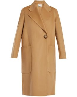 Carice Double-breasted Wool-blend Coat