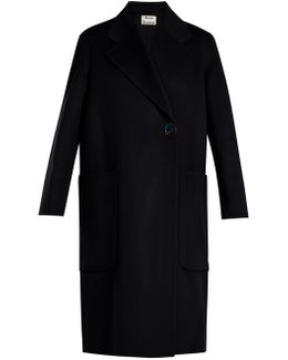 Carice Double-faced Wool And Cashmere-blend Coat