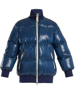 Cordella Quilted Down Coat