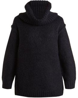 Ashia Oversized Roll-neck Alpaca-blend Sweater