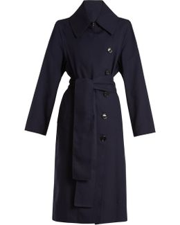 Creda Double-breasted Trench Coat