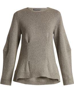 Darted Cashmere Sweater