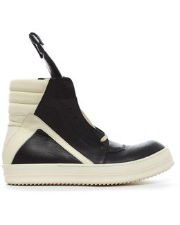 Geobasket High-top Leather Trainers