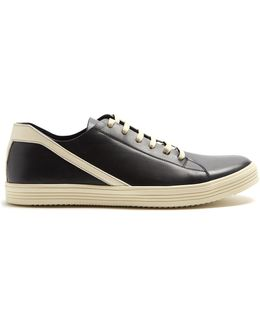 Geothraser Low-top Leather Trainers