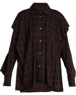 Fever Checked Cotton-blend Shirt