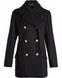 Mosto Wool-blend Pea Coat