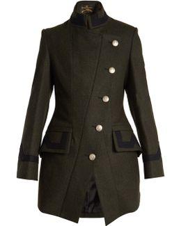 States Wool-blend Military Coat