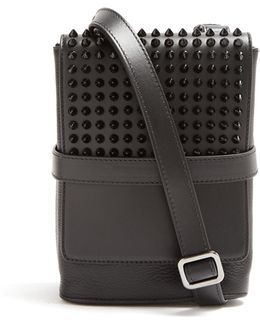 Benech Small Spike-embellished Cross-body Bag