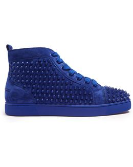 Louis Spike-embellished High-top Trainers
