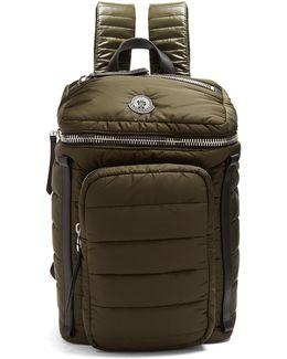 Matt Quilted-nylon Backpack