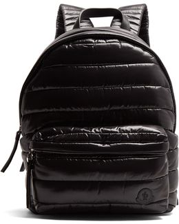 Fuji Quilted Nylon Backpack