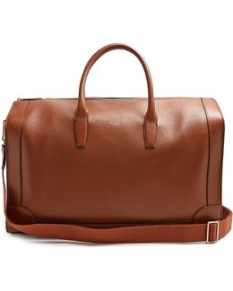 Belgrave Grained-leather Holdall