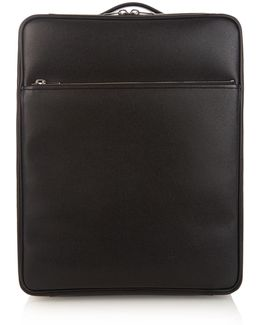 Leather Cabin Suitcase