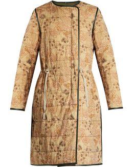 Demos Padded-twill Coat