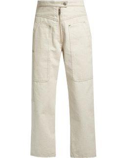 Paden High-waisted Wide-leg Jeans