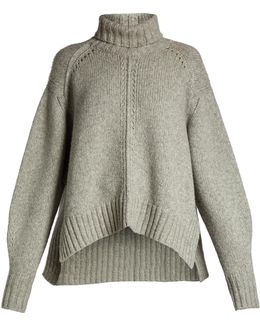 Dasty Roll-neck Wool-blend Sweater