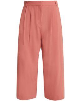Stella Wide-leg Cropped Trousers