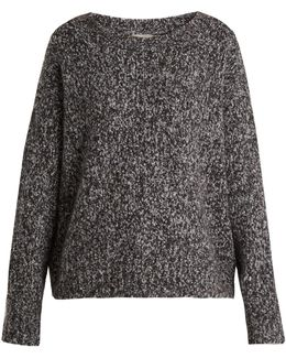 Chunky Wool And Cashmere-blend Knit Sweater