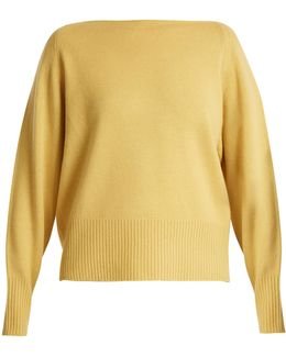 Boat Neck Cashmere Sweater