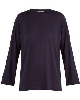 Long-sleeved Jersey T-shirt