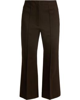 Jane Slim-leg Cropped Trousers